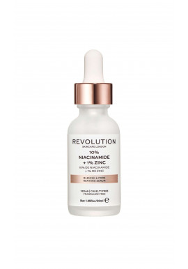 Revolution Skincare Serum - Blemish And Pore Refining Serum – 10% Niacinamide + 1% Zinc