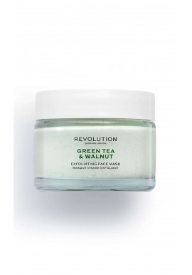 Revolution Skincare Face Mask - Green Tea & Walnut Exfoliating Face Mask
