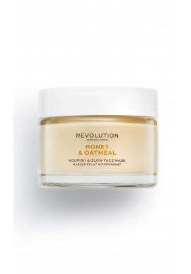 Revolution Skincare Face Mask - Honey & Oatmeal Nourish & Glow Face Mask