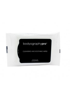 Bodyography CLEANSING AND SOOTHING WIPES 10ks