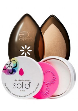 Combo Ex1 Beauty Egg + Beauty Blender Solid Cleanser