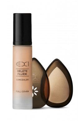 EX1 Delete Fluid Concealer + Beauty Egg