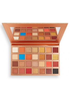 Makeup Revolution Glow Heatwave Shadow Palette open 1,2g