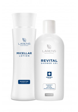Larens Combo Micellar Lotion + Revital Shower Gel