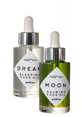 Soma Botanicals Combo Moon Calming Oil + Dream Sleeping Oil