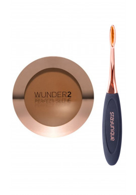Wunder2 # COMBO Powder HD Bronzing Veil + OVAL BRUSH #07