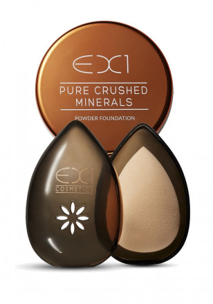 EX1 Pure Crushed Mineral Foundation + Beauty Egg