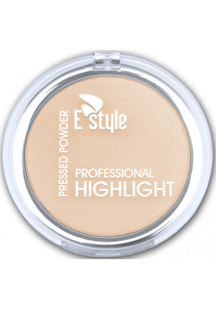 E style PROFESSIONAL HIGHLIGHT PRESSED POWDER