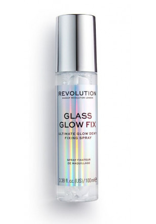Makeup Revolution Fixing Spray Glass Glow Fix 100ml