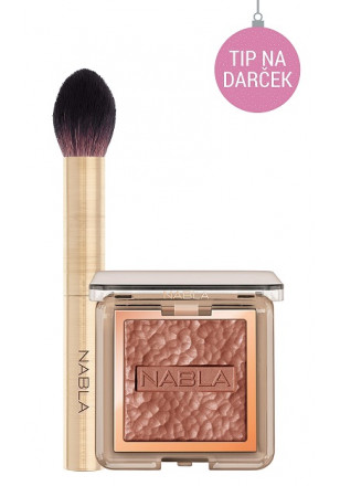 Nabla Skin Bronzing + Cheek Shaper Brush