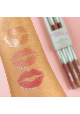 Makeup Revolution X Petra XOXO Lip Collection swatches 9ml