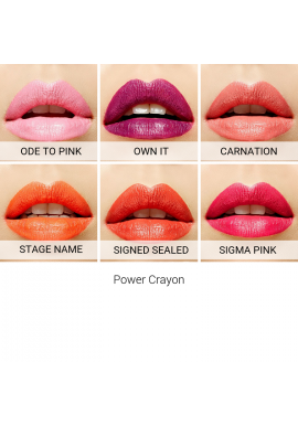 SIGMA Power Crayon swatches