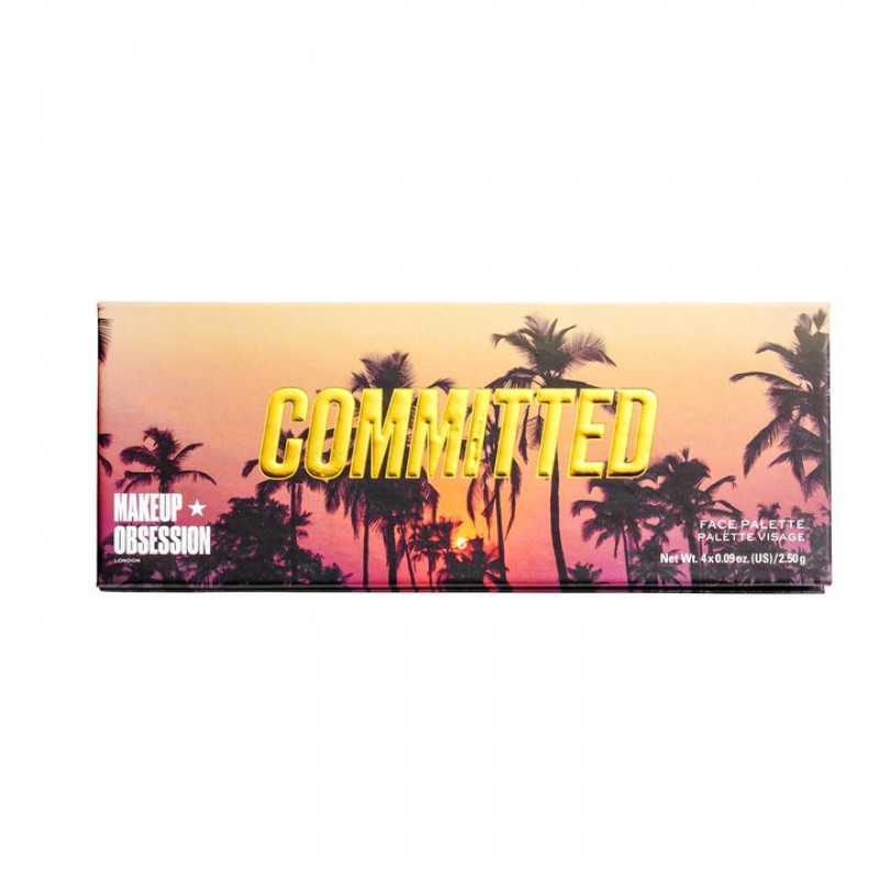Makeup Obsession Palette - Highlight Palette Committed
