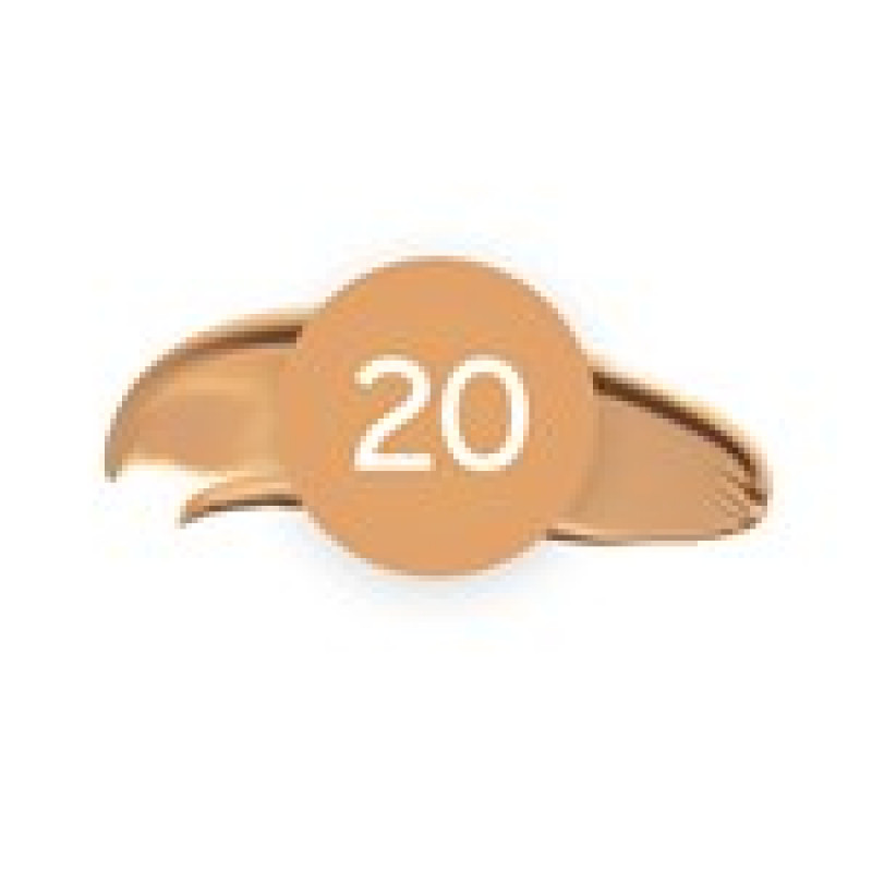 Wunder2 Last & Found[ation] Concealer-20 MEDIUM