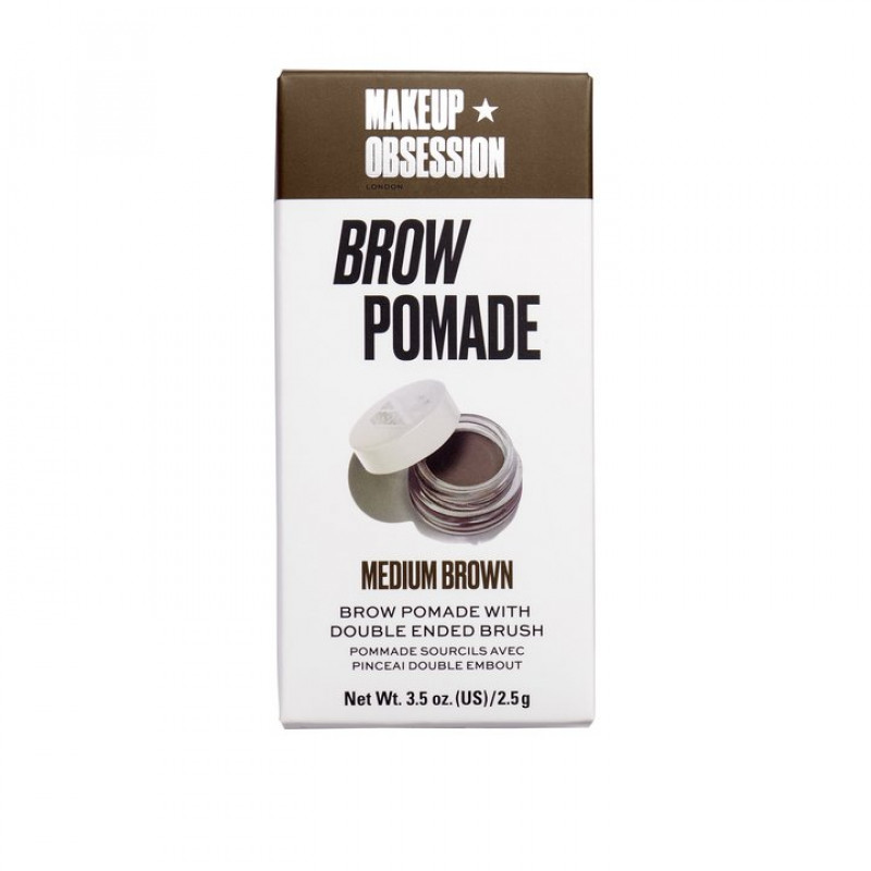 Makeup Obsession Brow Pomade-MEDIUM BROWN