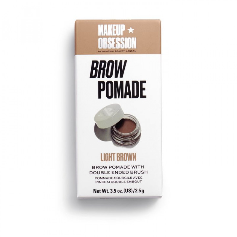 Makeup Obsession Brow Pomade-LIGHT BROWN