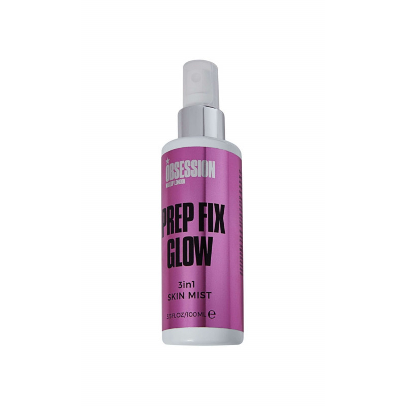 Makeup Obsession Fix Prep Glow 3 in 1 Skin Mist 100ml