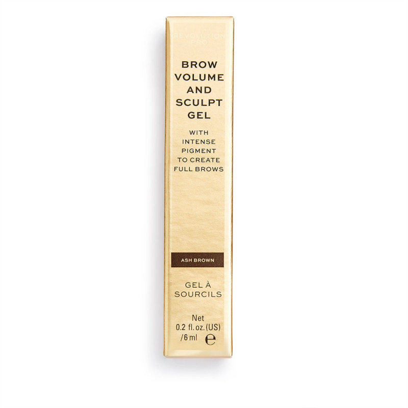 Revolution Pro Brow Volume and Sculpt Gel 6ml-ASH BROWN