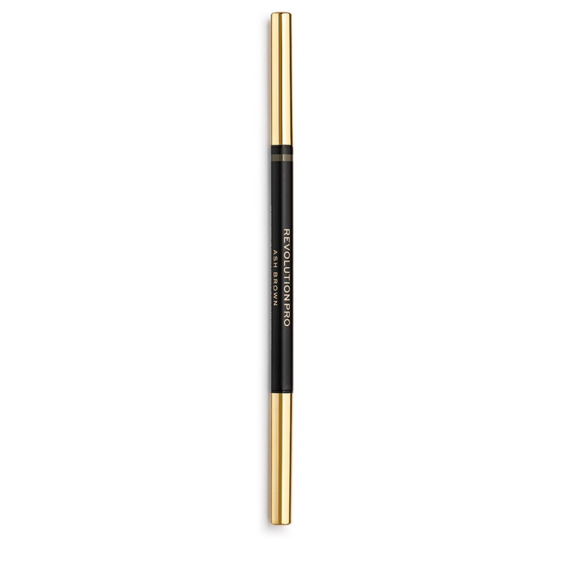 Revolution Pro Define and Fill Micro Brow Pencil 0,1g-ASH BROWN