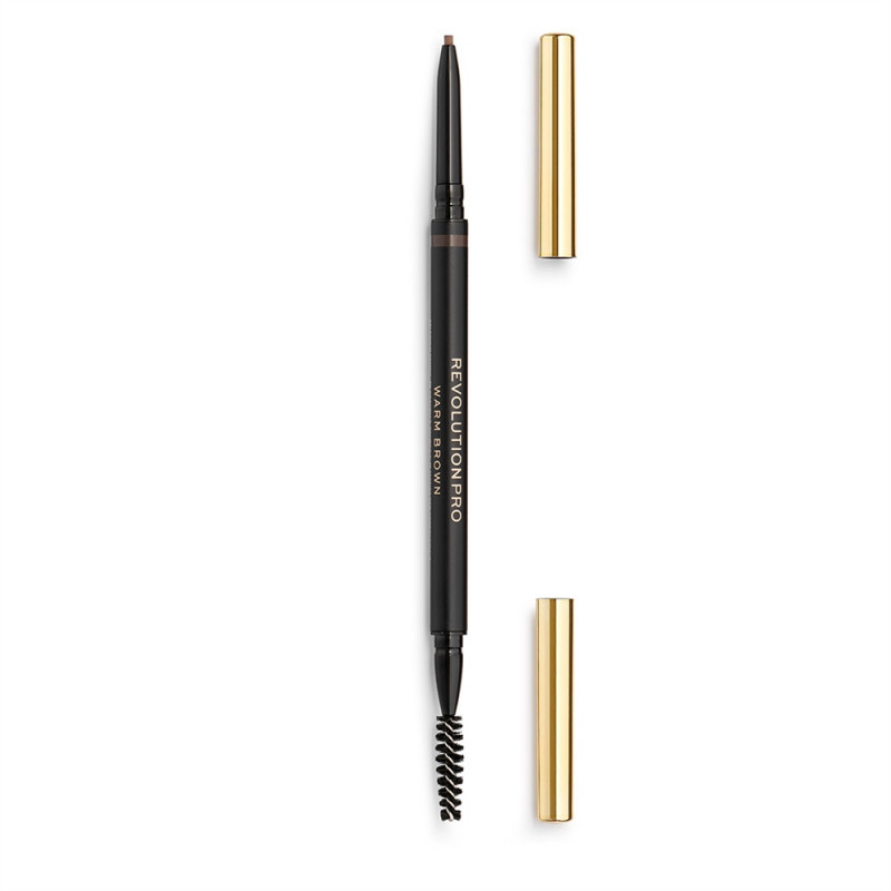 Revolution Pro Define and Fill Micro Brow Pencil 0,1g-WARM BROWN