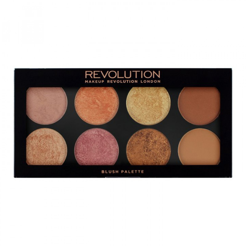 Makeup Revolution Blush Ultra Palette Golden Sugar 2 13g