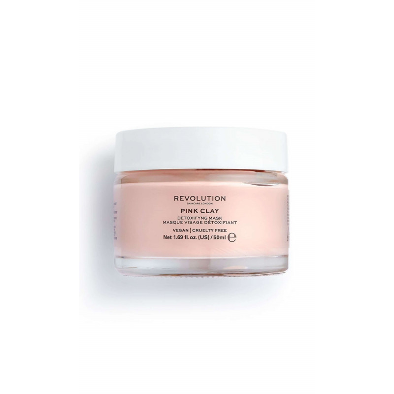 Revolution Skincare Face Mask - Pink Clay Detoxifying Face Mask