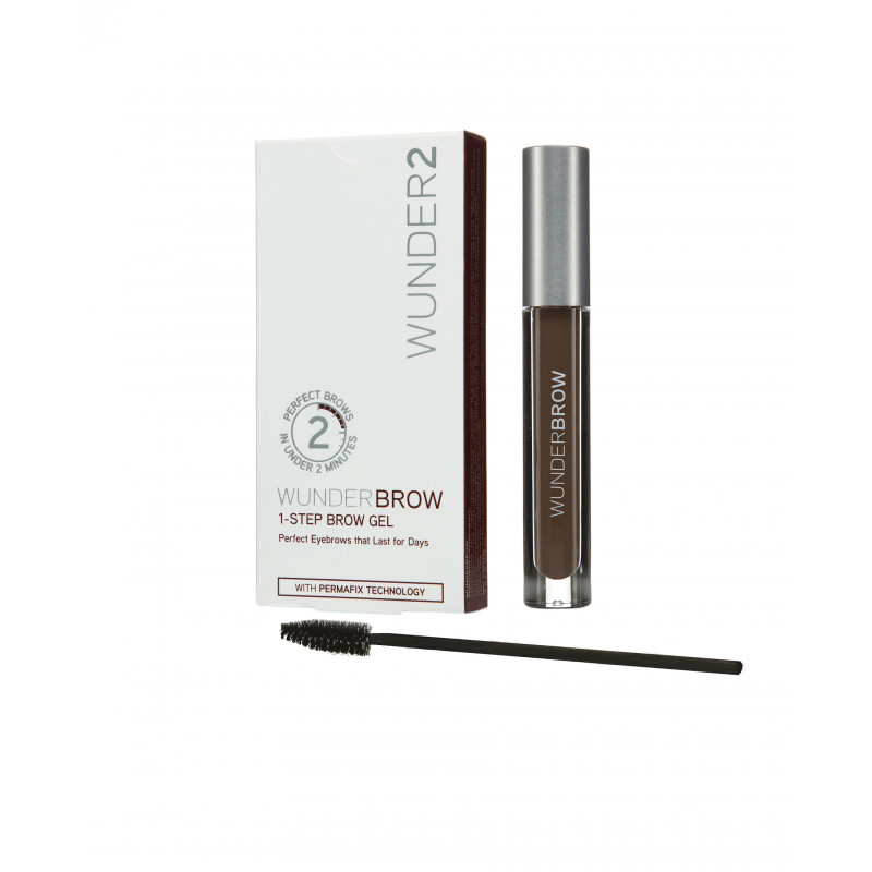 Wunder2 - WUNDERBROW Eyebrow Gel-BLACK/BROWN