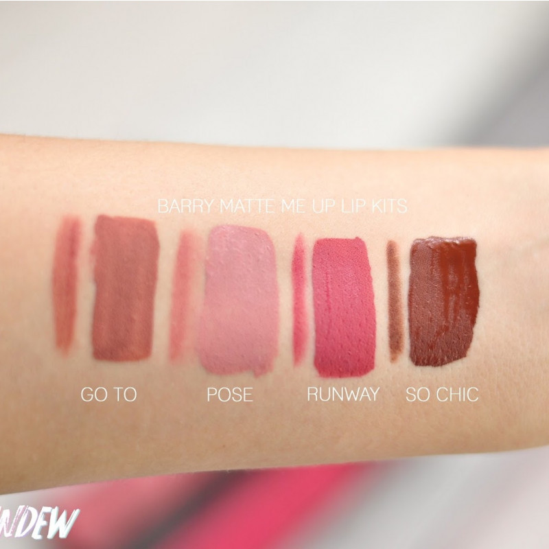 BarryM Lip Kit Matte Me Up Runway