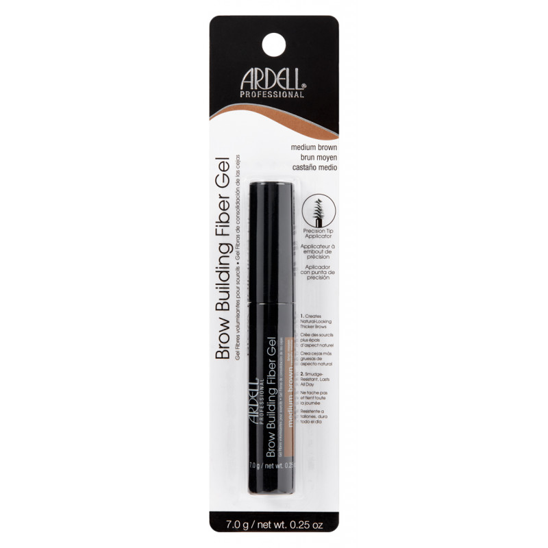 ARDELL Brow Building Fiber Gel-MEDIUM BROWN