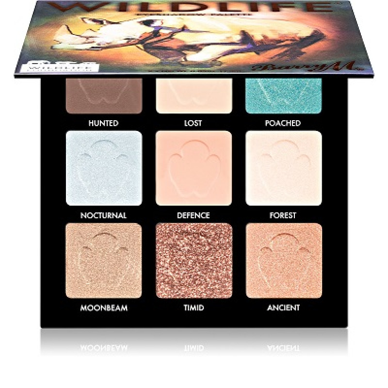 BarryM Eyeshadow Palette Wildlife Rhino