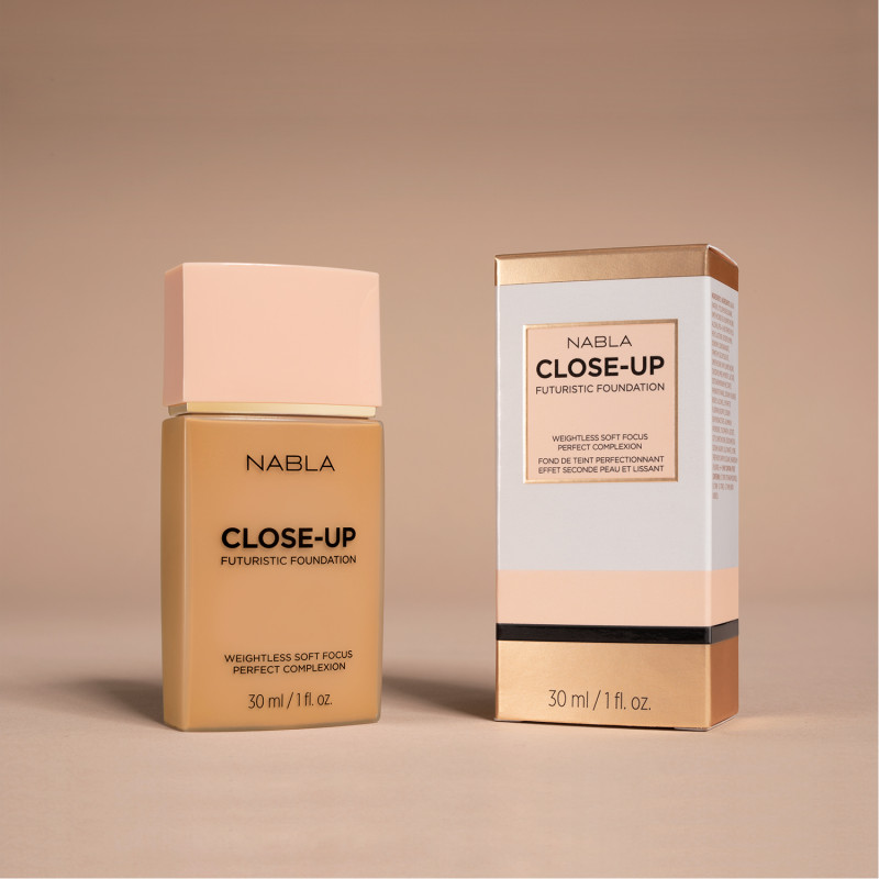 Nabla CLOSE-UP Futuristic Foundation-TAN 10