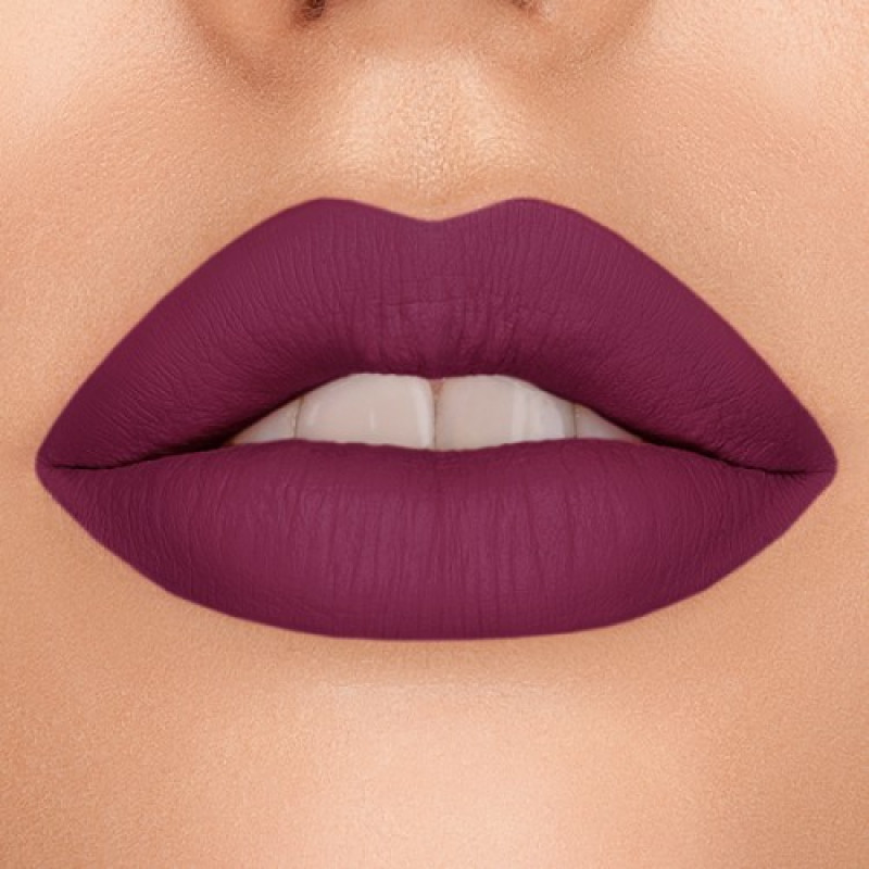 Nabla Dreamy Matte Liquid Lipstick Roses Edition-Berry Bite