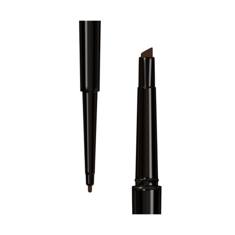 Wunder2 WUNDERBROW DUAL PRECISION BROW LINER-BLACK-BROWN