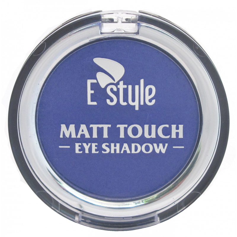 E Style MATT EYE SHADOW MONO-10 UNIQUE BLUE