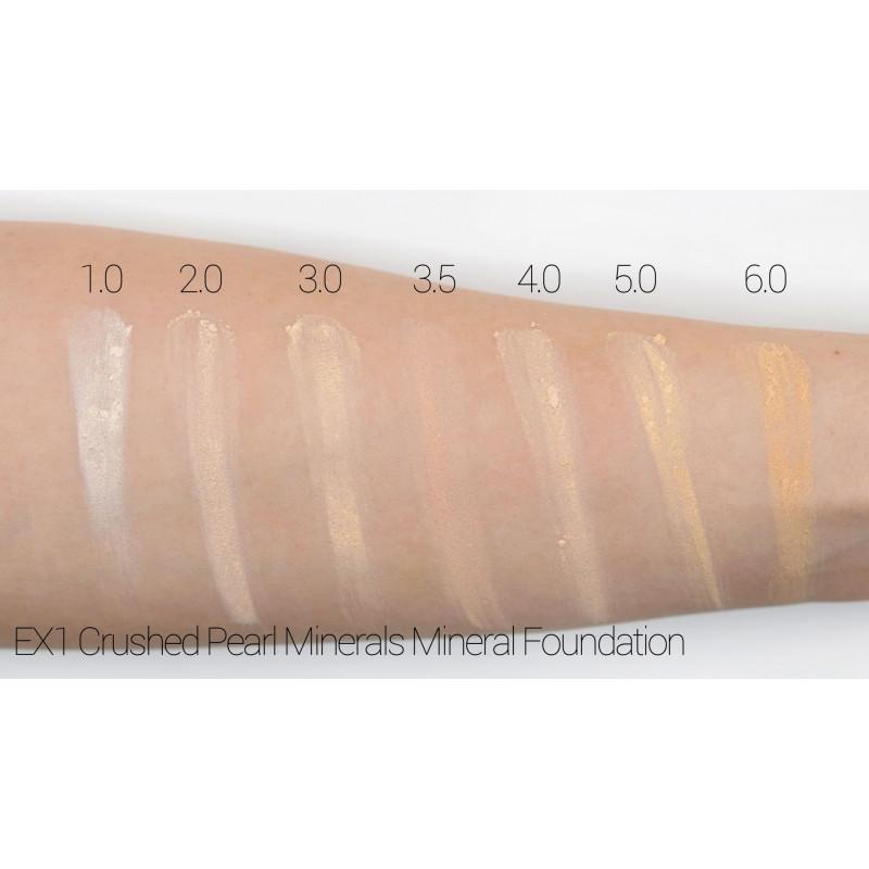 EX1 Delete Pure Crushed Mineral Foundation Swatch