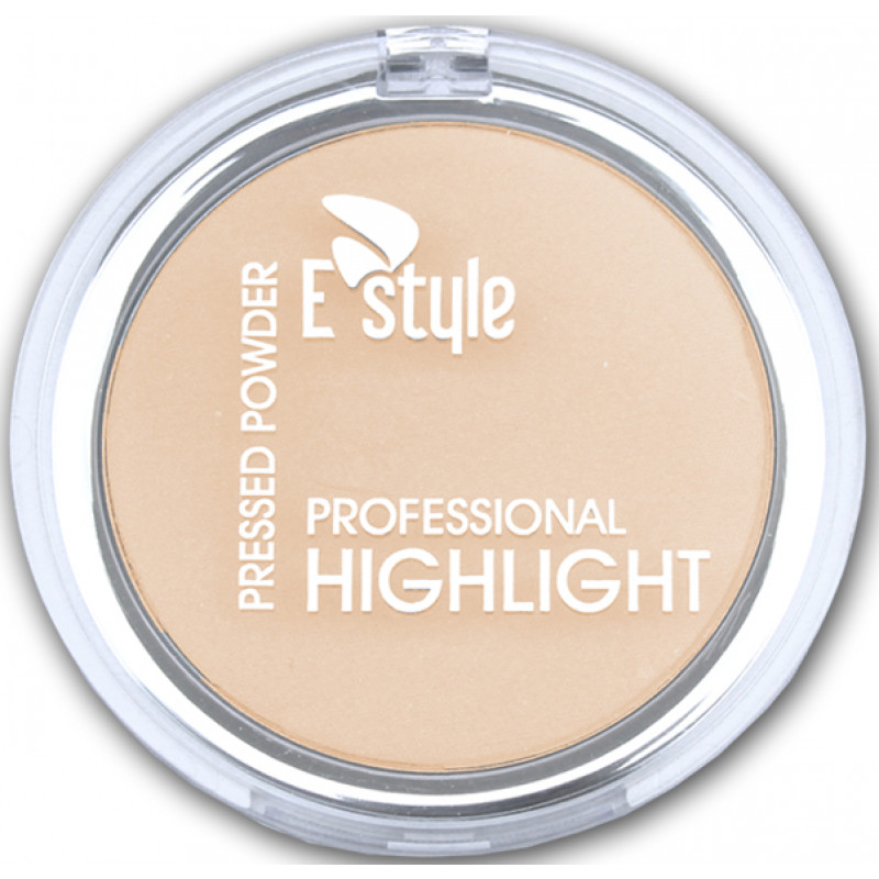 E style PROFESSIONAL HIGHLIGHT PRESSED POWDER-01 PEARL DUST