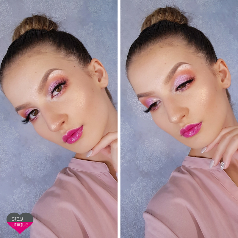 MakeupAddiction Meadow Palette STAYUNIQUE LOOK3