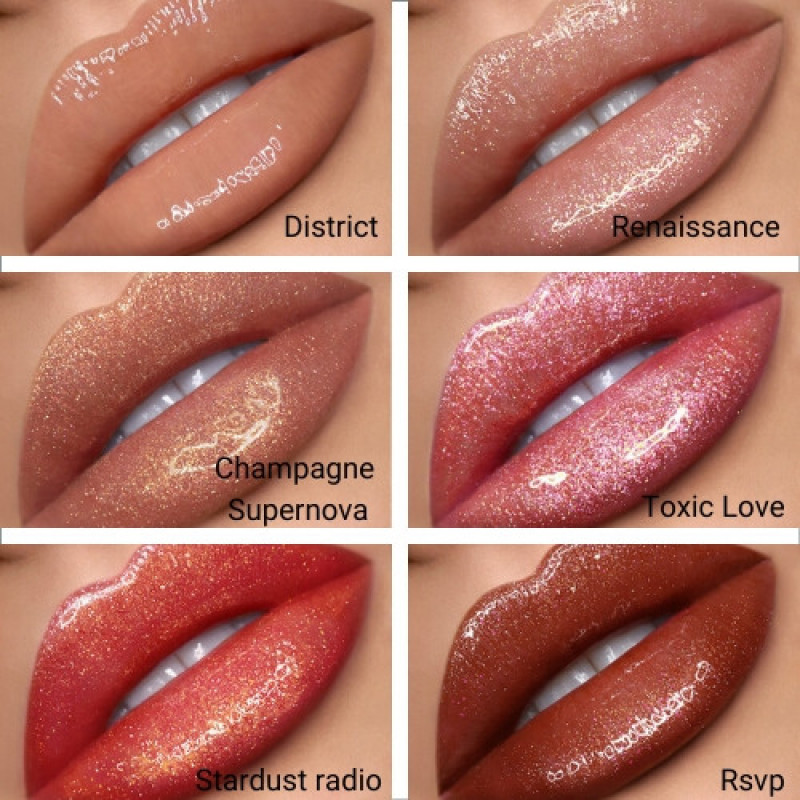 Nabla Lip Gloss Shine Theory -Champagne Supernova