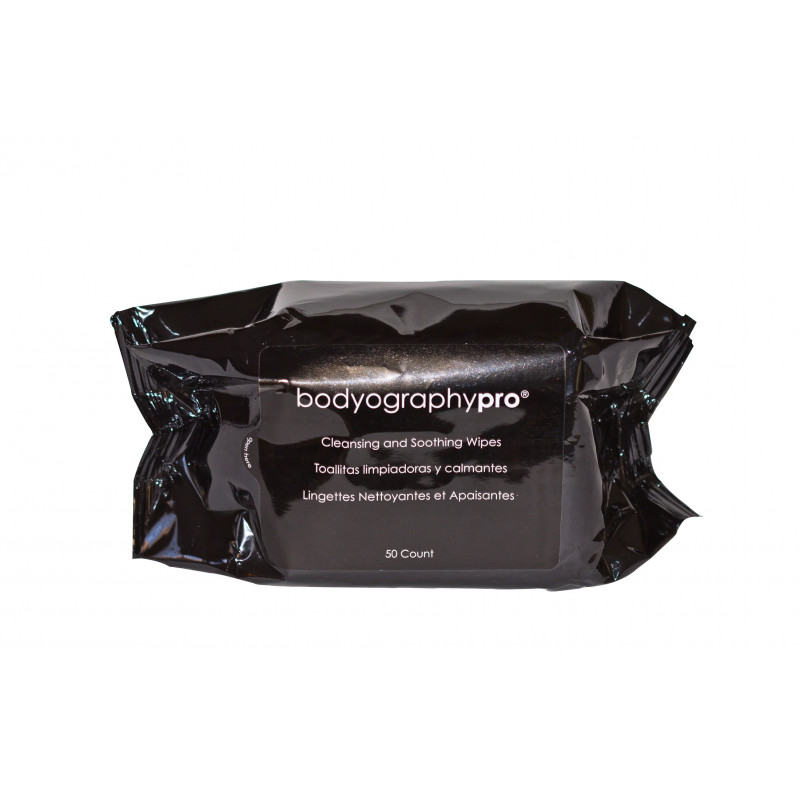 Bodyography CLEANSING & SMOOTHING WIPES