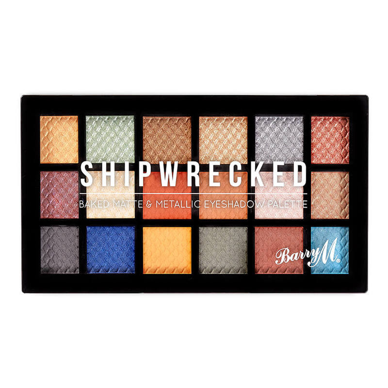 BarryM Baked Eyeshadow Palette Shipwrecked