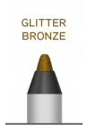 Wuder2 SUPER STAY LINER-GLITTER BRONZE