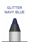 Wuder2 SUPER STAY LINER-GLITTER NAVY BLUE